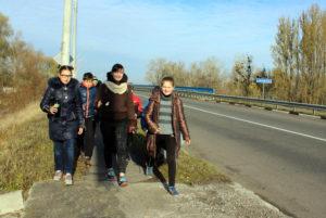 Через річку Вільшанку